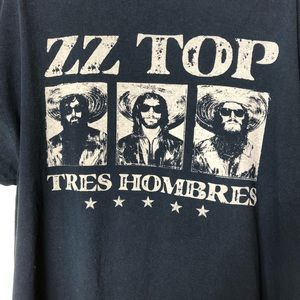 Other - ZZ Top Tres Hombres Tour Tee, 2015. Size XL.